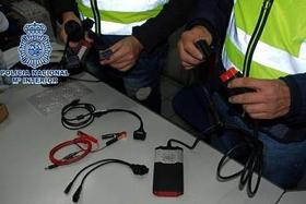 Operación Policial llevada a cabo en Mayo de 2014 contra los equipos de diagnosis fraudulentos