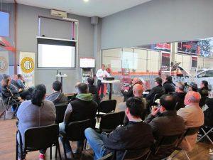 presentación taller golo barcelona