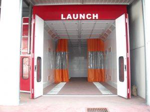 cabina de pintura para camiones de Launch Ibérica