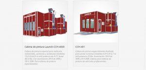 cabinas de pintura coches y camiones
