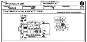 stand Launch Motortec 2017