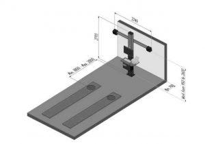medidas alineador de dirección 3D