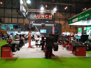 satand Launch Ibérica Motortec 2017