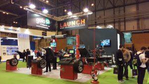 Stand Launch Ibérica Motortec 2017