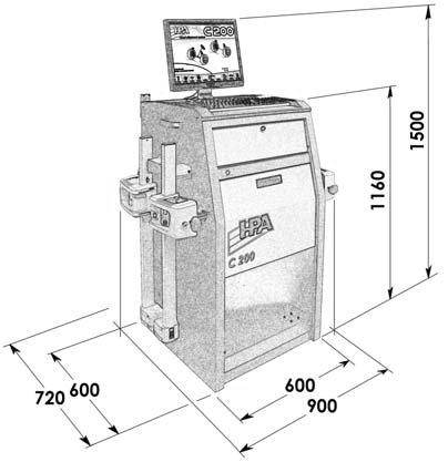 medidas alineador c200