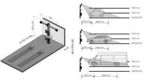 medidas alineador c880