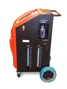 Máquina para sustituir el aceite de cambio automático