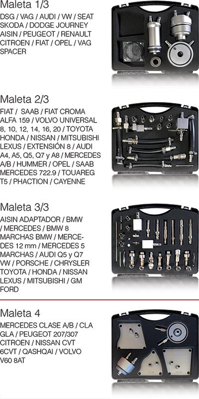 Kit conectores CAT501S