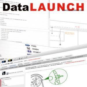 Información técnica de automoción DataLAUNCH