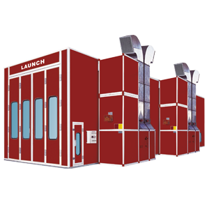 Cabina de pintura Launch para camiones