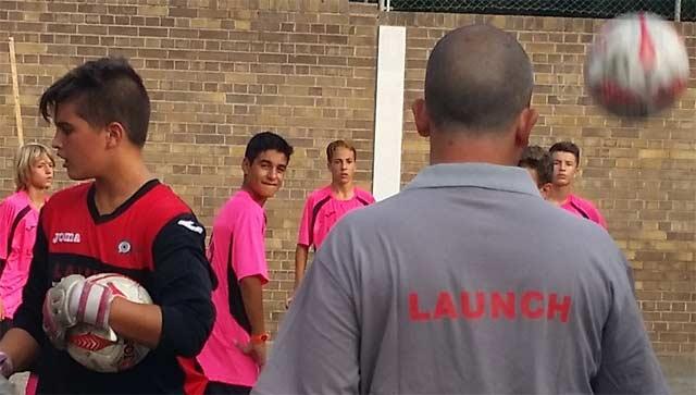 equipo de cadetes Launch
