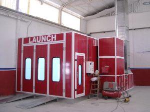 cabina para pintar coches
