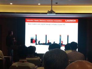 Presentación productos Launch