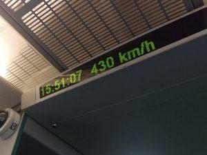 Tren bala China
