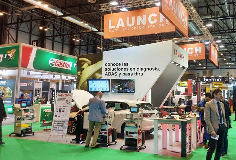 Motortec 2019 stand Launch Ibérica