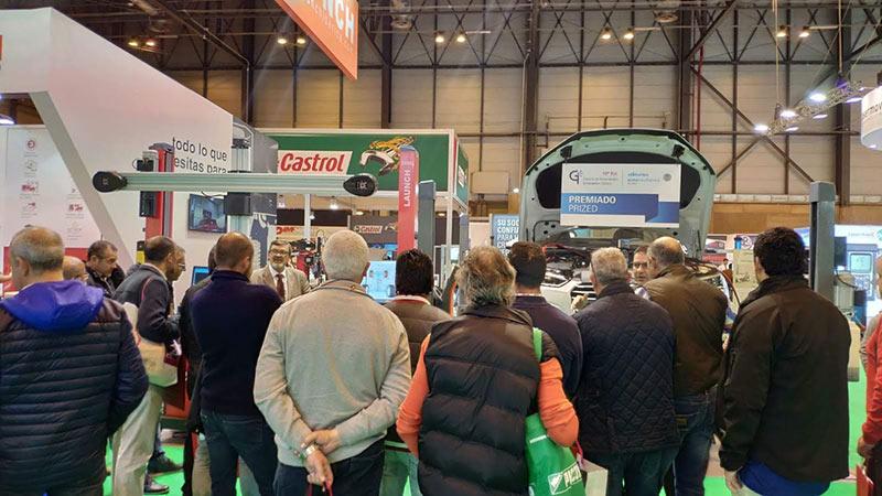 Visitantes Motortec 2019 stand Launch Ibérica
