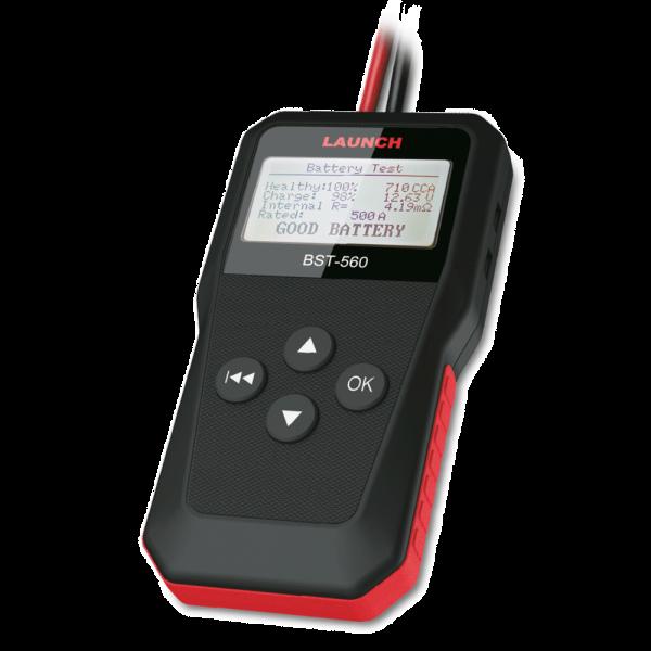 BST560 Comprobador de batería y sistema eléctrico