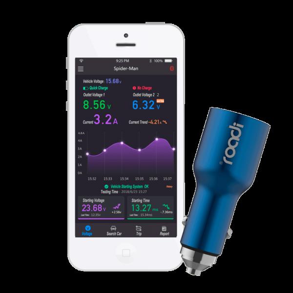 Cargador de móvil Roadi Bluetooth 4.0