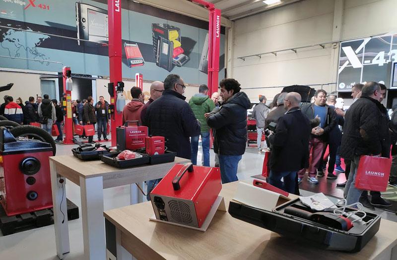 instalaciones Feria Launch 2019