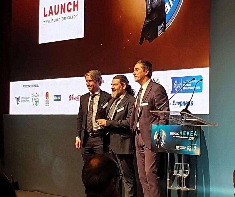 Launch Ibérica ganador Premios Hevea 2019