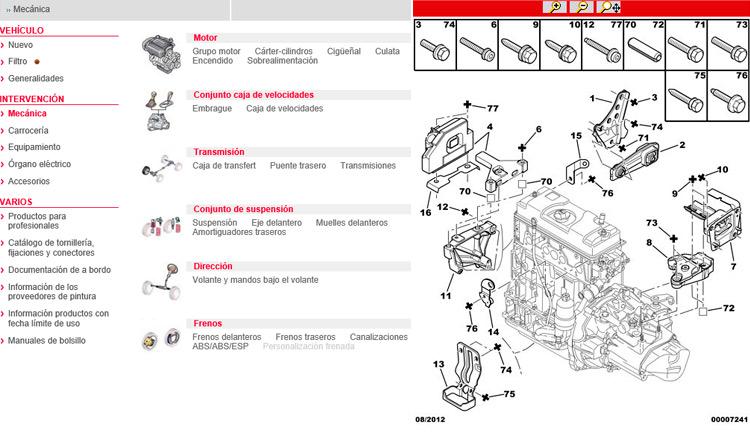 Descripción web del fabricante