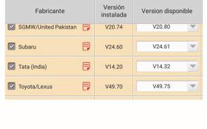 Actualizar Software Launch